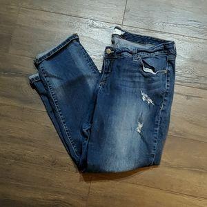 Torrid Distressed Boyfriend Jeans size 20R